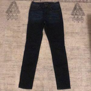 Size 27 Ombré Levi High Rise Skinny Jeans